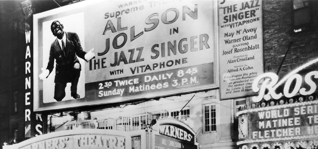 """""""The Jazz Singer"""" by Alan Crosland: a review"""