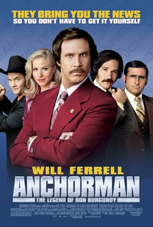 Movie Anchorman: The Legend of Ron Burgundy