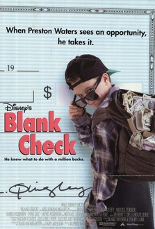 Movie Blank Check