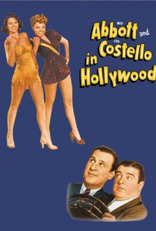 Movie Bud Abbott and Lou Costello in Hollywood