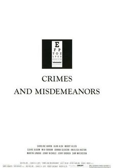 Movie Crimes and Misdemeanors