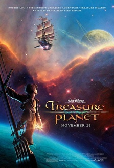 Cartoon Treasure Planet