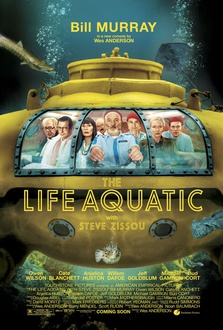 Movie The Life Aquatic with Steve Zissou