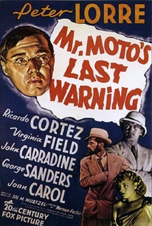 Movie Mr. Moto's Last Warning