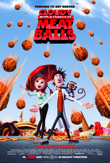 Cartoon Cloudy With A Chance Of Meatballs