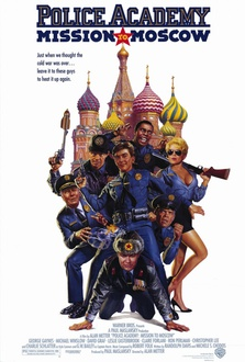 Movie Police Academy: Mission to Moscow