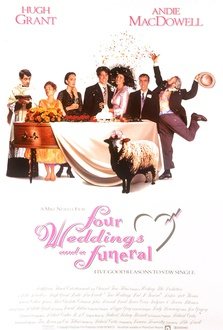 Movie Four Weddings and a Funeral